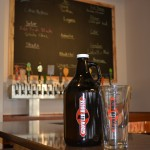 growler on bar