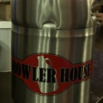 "Stainless Steel Mini ""Keg"" $50.00"